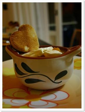 zuppa zucca e patate con verdure e quenelle1