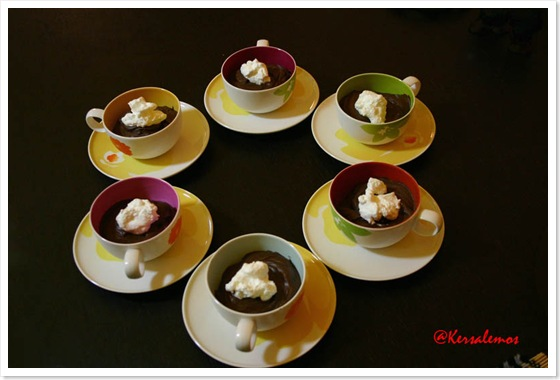 mousse in tazza